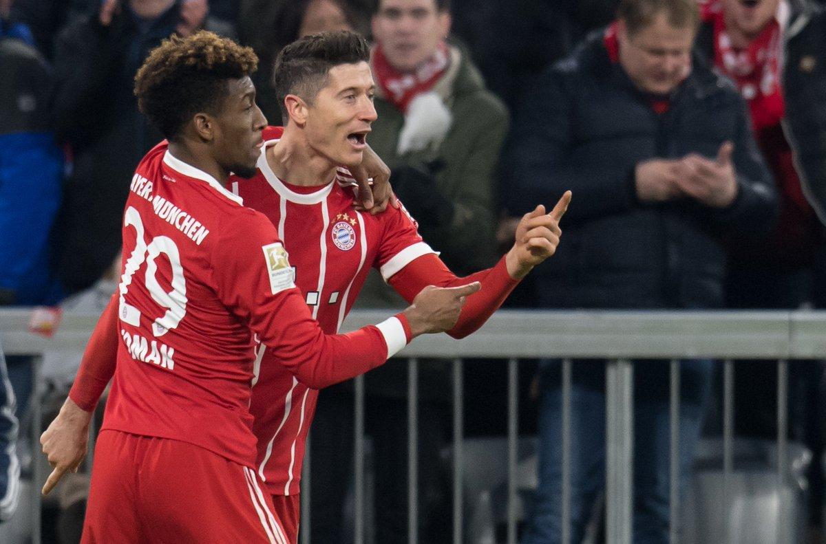Robert Lewandowski in the Bundesliga thi...