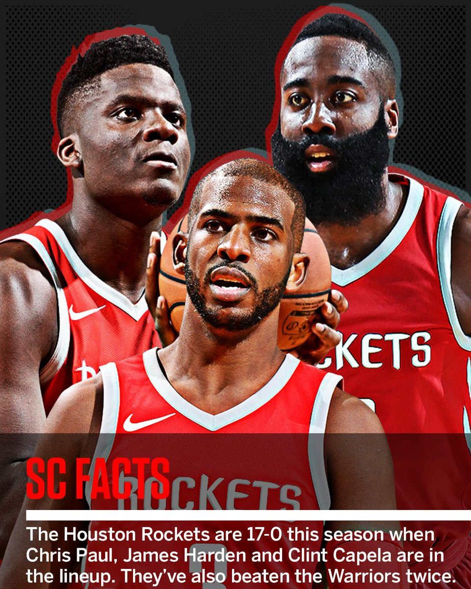 When the Rockets are healthy, they've taken off.