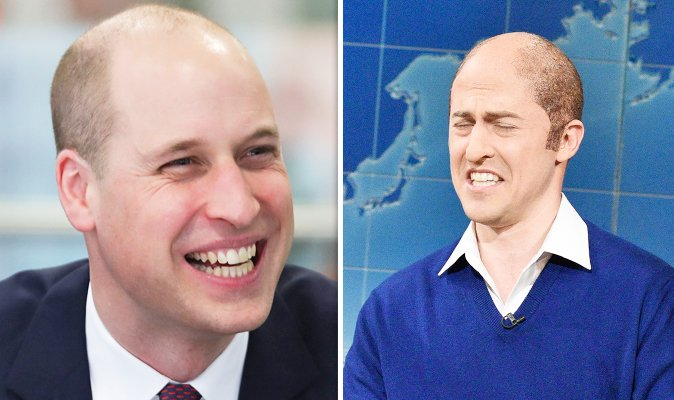 Prince William's new buzz cut hair MOCKED on Saturday Night Live: https://t.co/bd9E99UrGf https://t.co/UAROmOQFUz