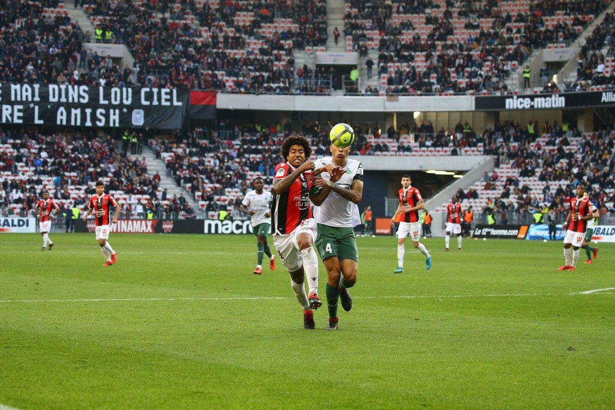 Très bonne victoire aujourdhui contre Saint-Etienne. Nous sommes sur la bonne voie. #OGCNASSE #IssaNissa @leolacroix_4 @Ligue1Conforama @ogcnice