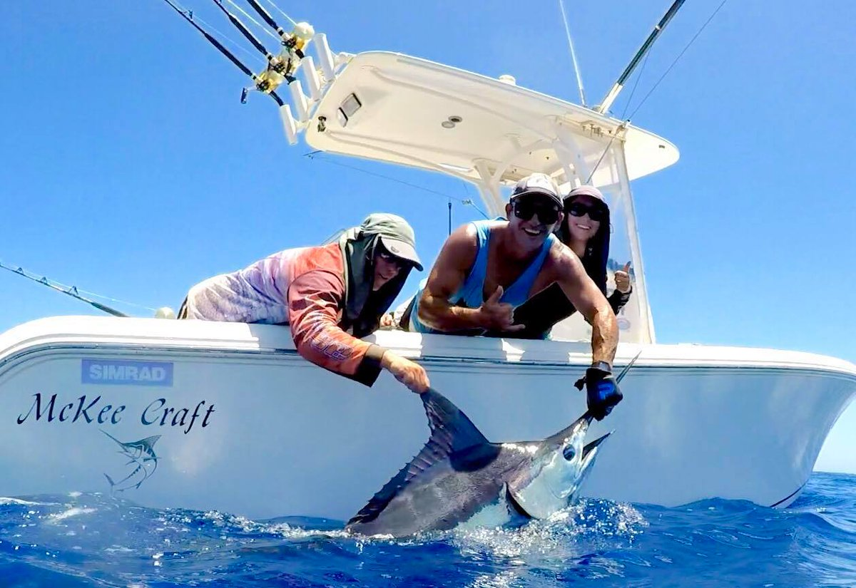 Exmouth, Aus - Ballzdeep released a Grand Slam going 1-3 on Blue Marlin, 1-1 on Black Marlin and 1-1 on Sailfish.