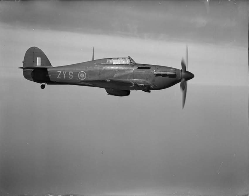 Hurricane Mk IIC night fighter BD936 ZY-...