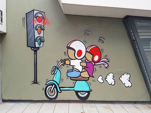 Love Road #streetart #jaceticot https://t.co/T51MHryeQz