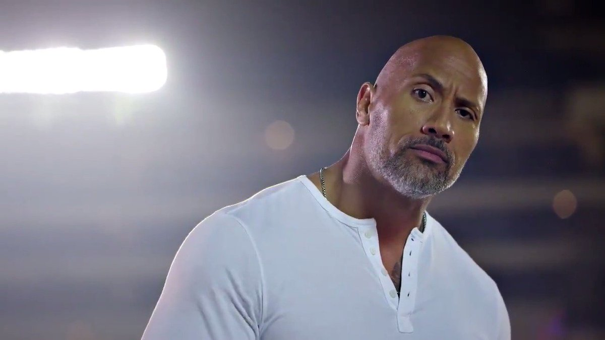 You wanted big. Well, it doesn't get any bigger than this.  @TheRock gave us an electrifying intro for the AFC Championship Edition of The NFL Today.