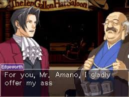 Out Of Context Ace Attorney On Twitter Should I Allow