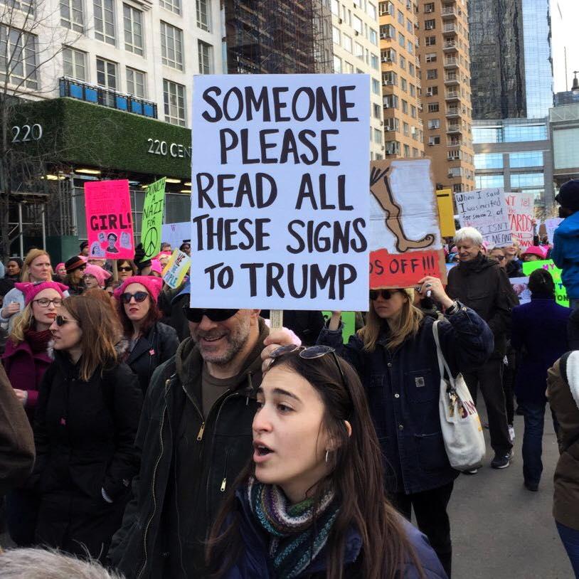 Amazing... @realDonaldTrump #Resist #ImpeachTrump #WomensMarch2018 #TrumpShutdown https://t.co/6T259XLjLb