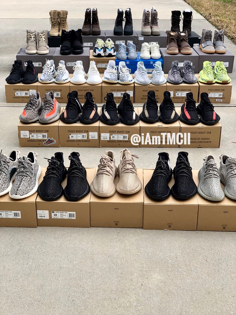 all the yeezys ever made