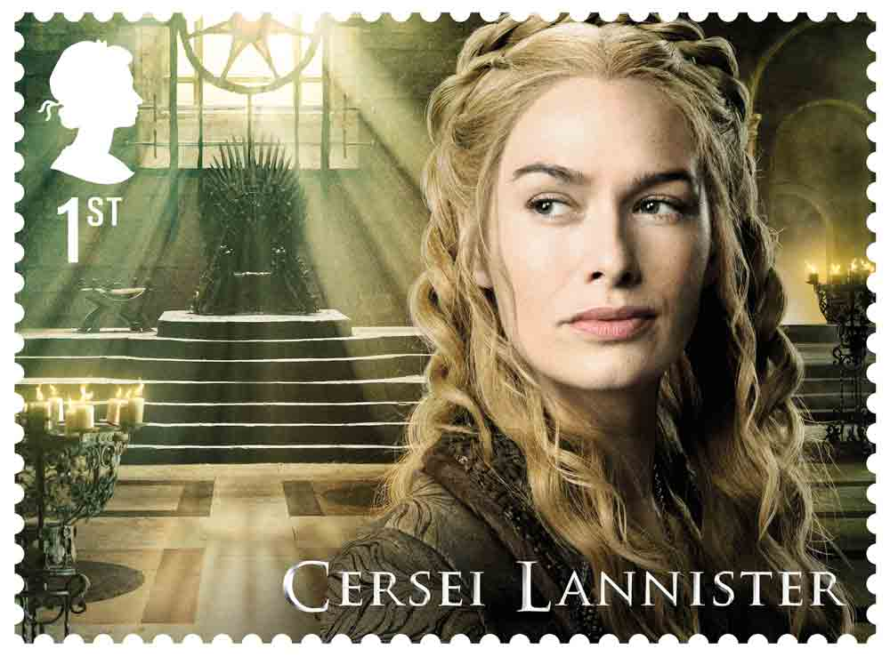 Game of Thrones stamps designed for Royal Mail by GBH: https://t.co/l2Ier0UGdz