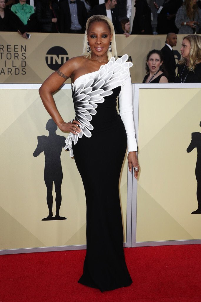 Mary J. Blige is nominated for the 'Outstanding Performance By a Female Actor in a Supporting Role' #SAGAwards