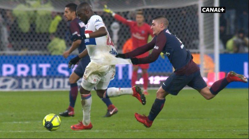 Lyon vs PSG 1-1 Highlights