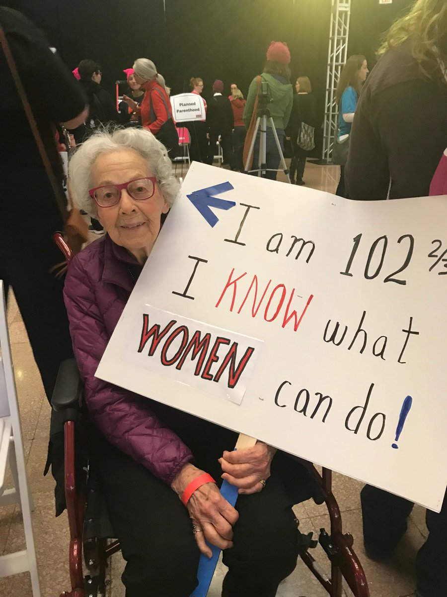 25+ of the Most Creative Protest Signs From the 2018 Women's March