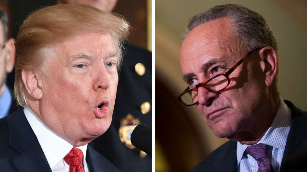 White House hits back at Schumer: His account of meeting with Trump is 'false' https://t.co/XSgfVwbzQV