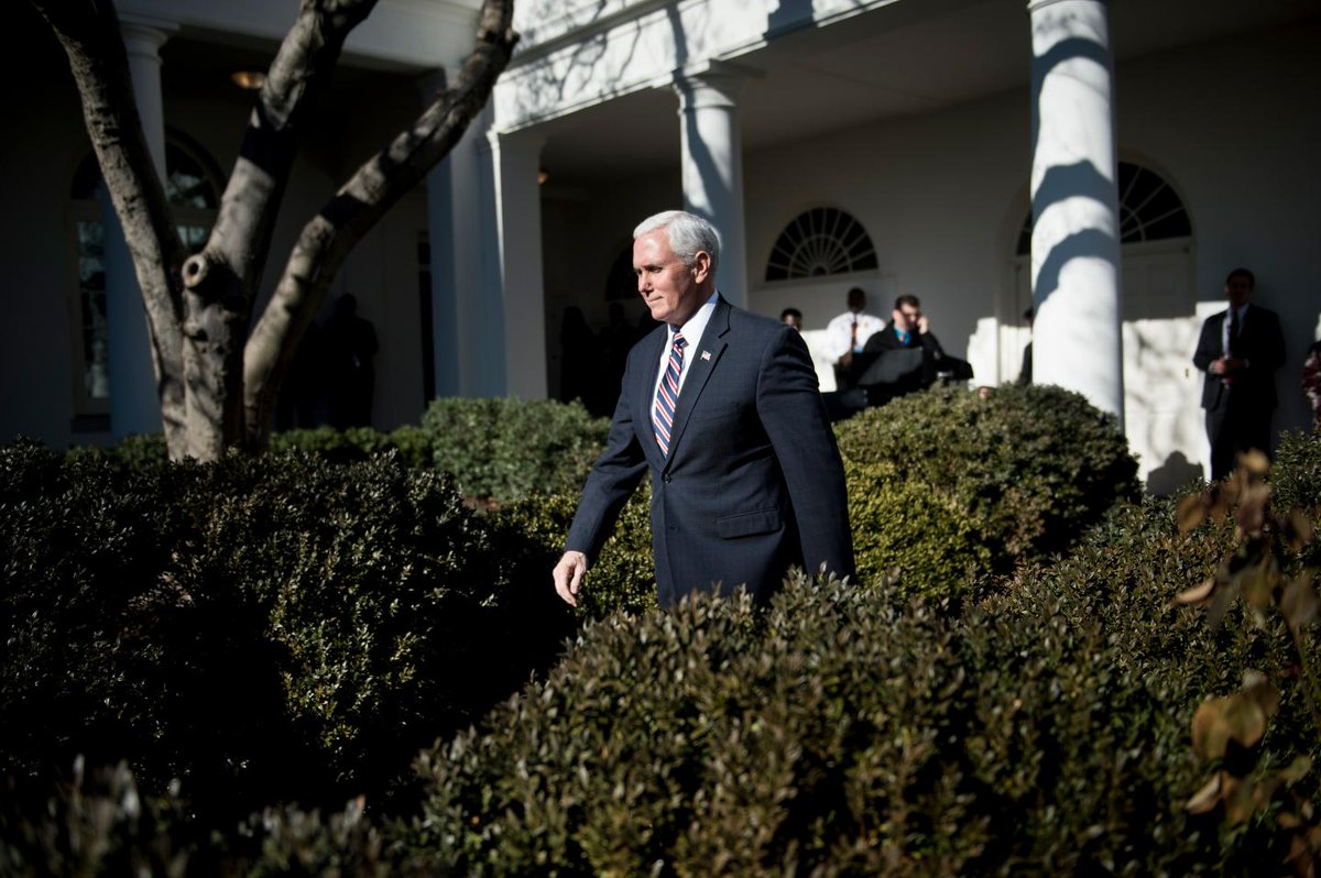 Mike Pence tells U.S. troops that Democrats are to blame for shutdown that could affect their pay https://t.co/2X39ZluBi2