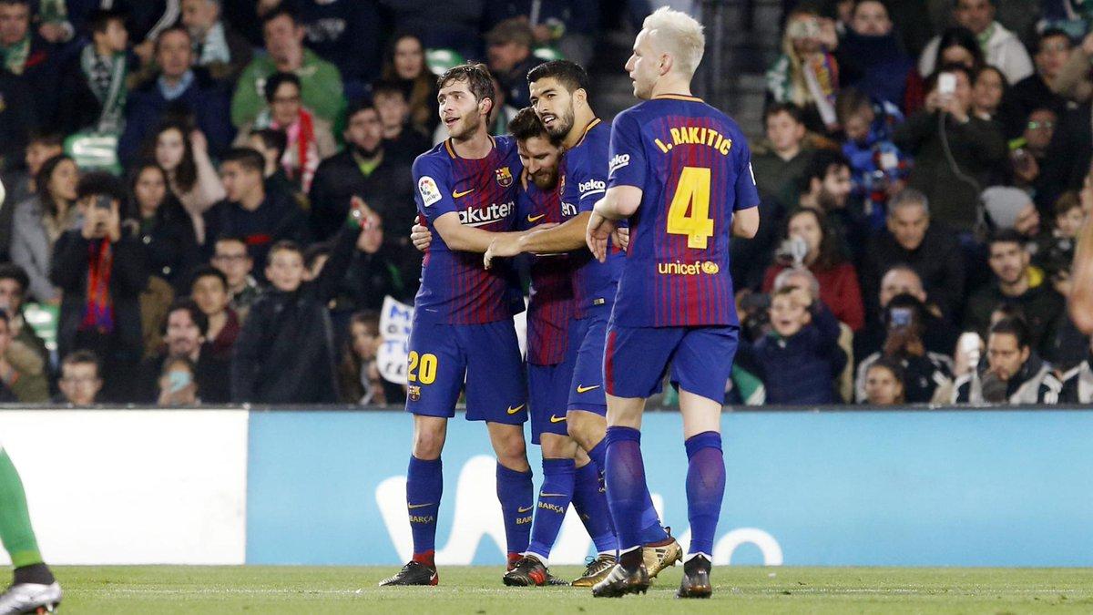 Chấm điểm kết quả Betis 0-5 Barcelona