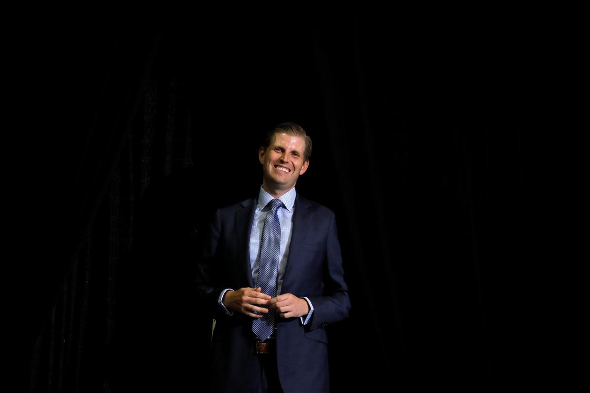 Eric Trump thinks the government shutdown is a good thing https://t.co/zYmPNbpEqN