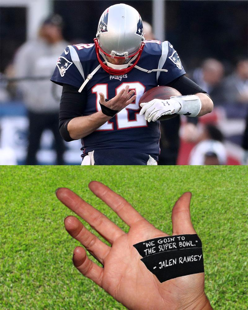 You know Tom didn't forget.
