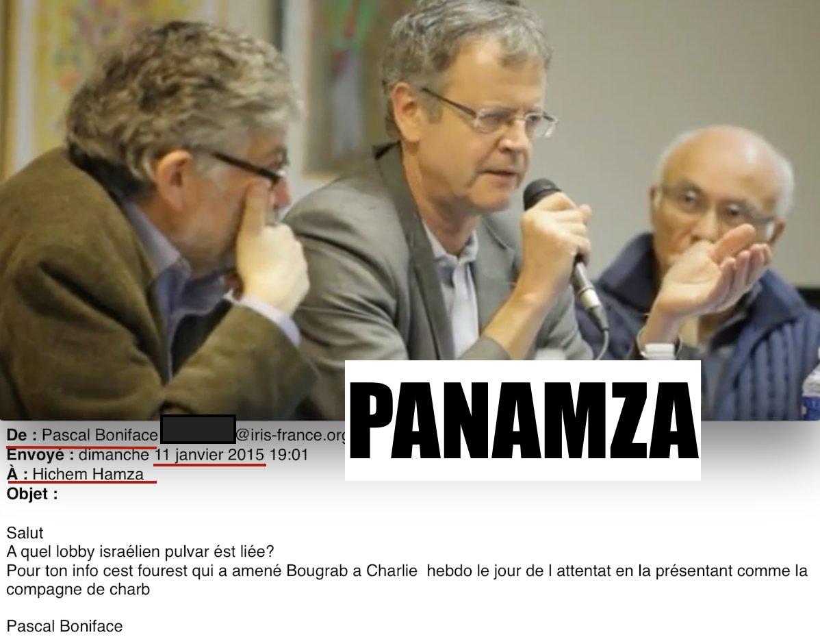 Soutenir secrètement puis diaboliser publiquement Panamza : quand Boniface perd la face