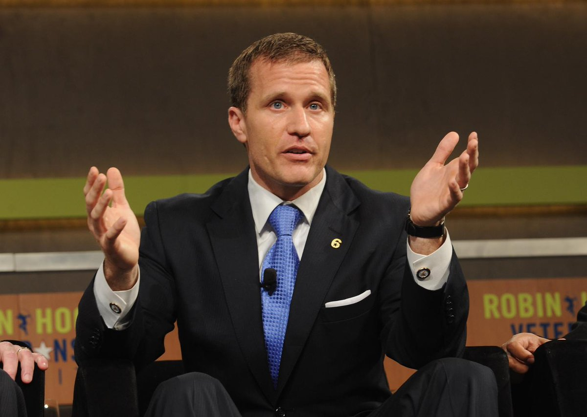 Missouri governor Eric Greitens denies blackmailing mistress with explicit pictures https://t.co/pHoq2SmIyi