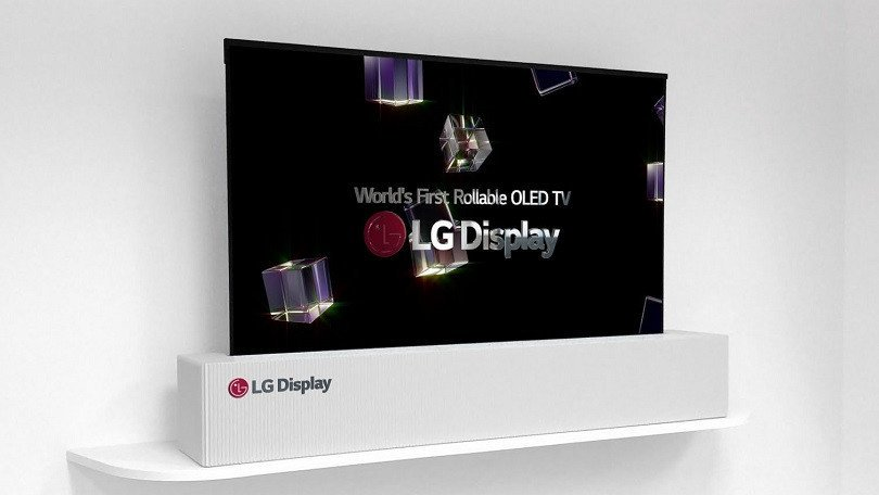 LG is making an OLED TV you can roll up and store elsewhere when not in use: https://t.co/AVbsEqIs2w  #ces2018