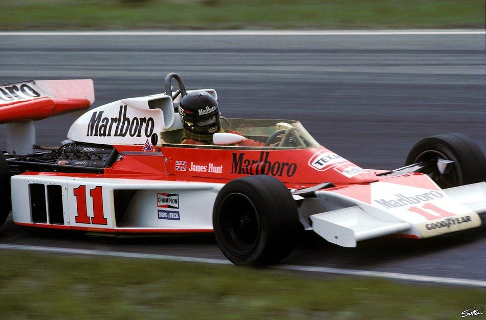 James Hunt (McLaren-Cosworth M23) Anders...