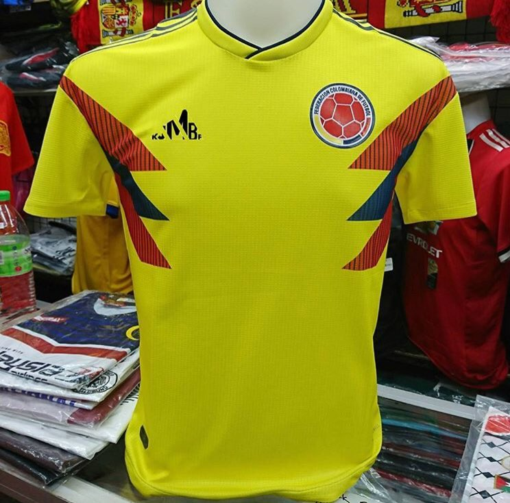 Colombia Home 2018 S, M, L, XL Gred Player Issue RM70 To order ���� https://t.co/QFAzm0NfBV https://t.co/2faImq5Ngv