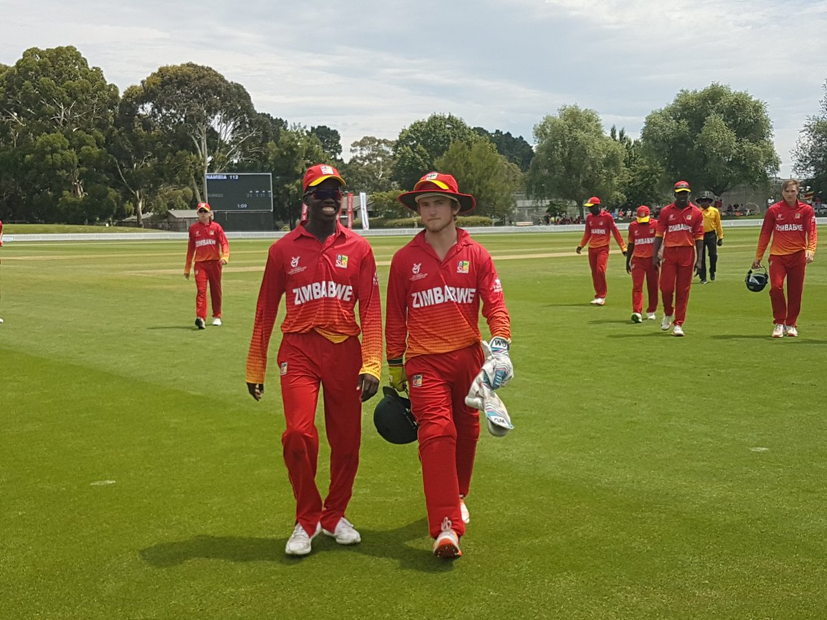 ICC U-19 World Cup: Zimbabwe Thrash Namibia To Enter Plate Semifinal 1