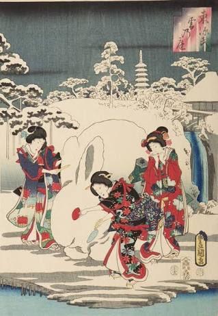 雪が積もると、なぜか変なオブジェを作ってしまう日本人の行動は興味深い。人はなぜ彫刻をつくるのか?という答えがなんとなくわかる。