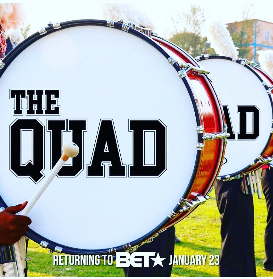 """Check me out on Season 2 of """" The Quad """" on @BET , Starts this week ! 🎬 #Weoutchea https://t.co/twAcV0Ek3l"""