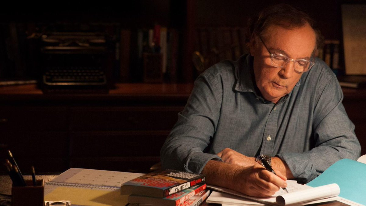 Sunday conversation: Mystery master James Patterson talks about writing a thriller with Bill Clinton and why watching cable news is so scary https://t.co/tlds21bILr