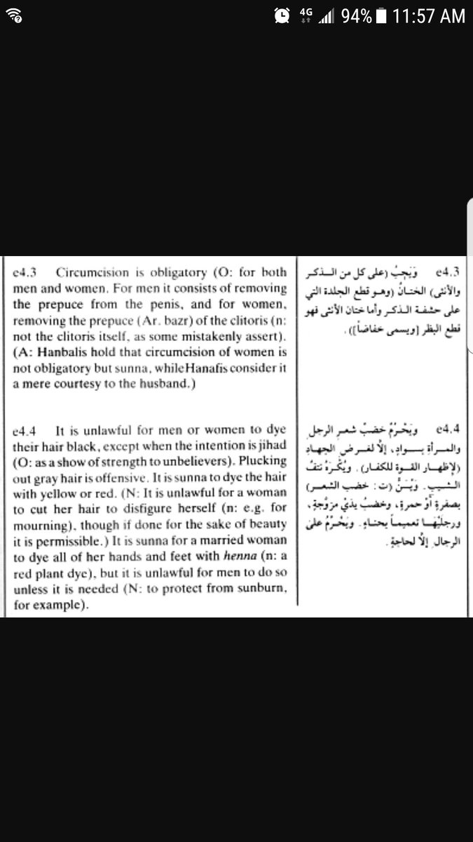 RT @harryteabag1: @lsarsour @x0x0x00x0x0 Fgm in the sharia law manual.  Don't u advocate for sharia linda?🤔 https://t.co/urA4XcAT2B