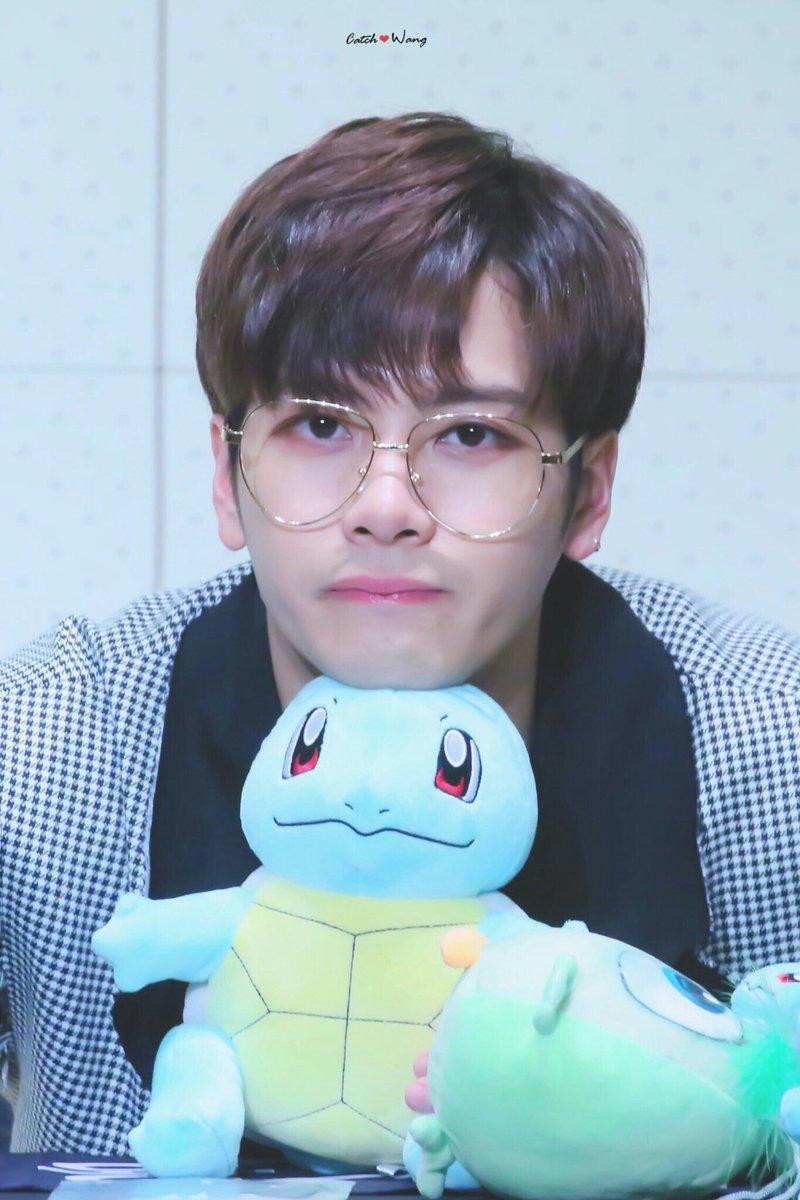 Bts Fans On Twitter Jackson Wang Jacksonwang Got7 Cute Blue Pokemon Kpop Jinyoung Youngjae Yugyeom Bambam Marktuan Jaebum
