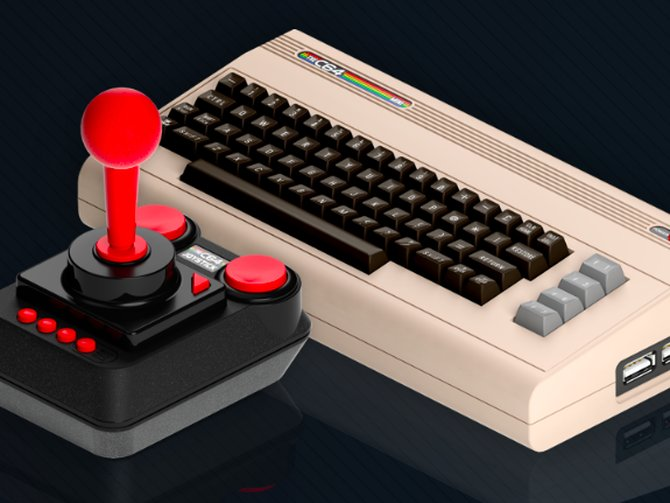The Commodore 64 debuted at #CES today in 1982, now we're getting a mini version https://t.co/hmsOs1Nz23