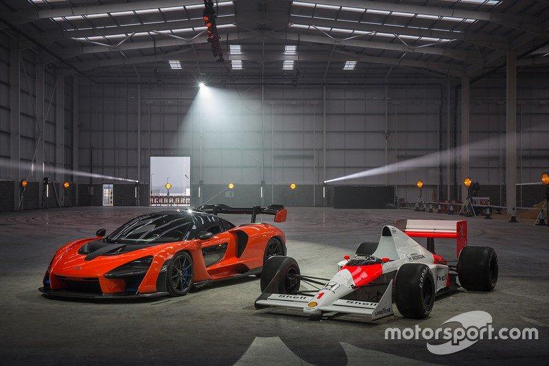 Si te lo perdiste: VIDEO: el McLaren Sen...