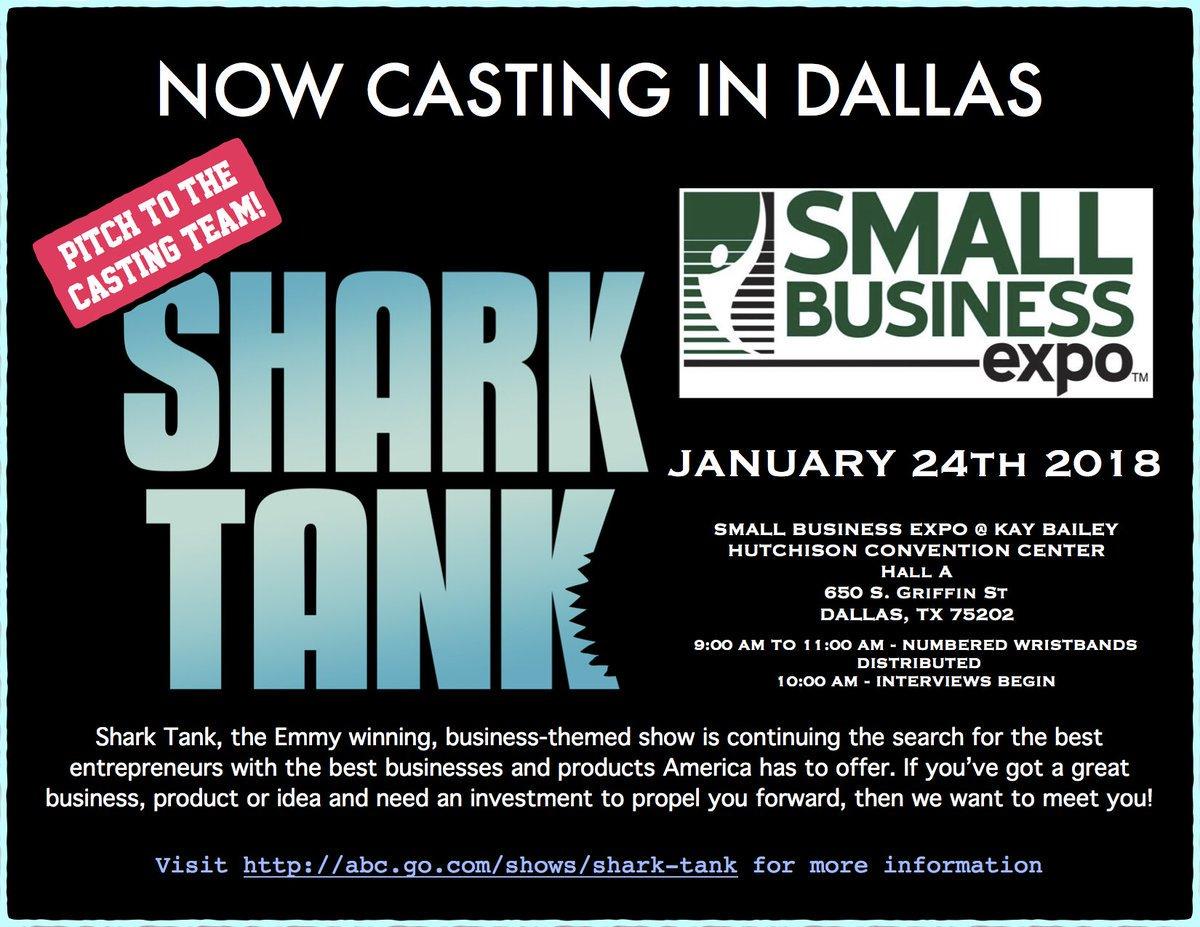 Entrepreneurs.. Here's your chance! #SharkTank casting for Season 10 is here: https://t.co/J8idGHRBnh