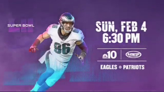 RT @Eagles: Super Bowl LII  #FlyEaglesFly https://t.co/lLxzc5YJoY