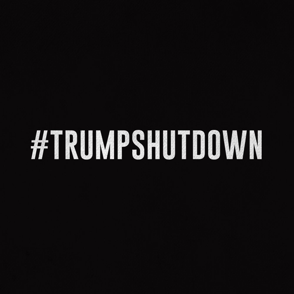 What caused the #TrumpShutdown? @realDonaldTrump's hate & racism. Congress: , op#DoYourJoben the government & pass a clean !#DreamActNow