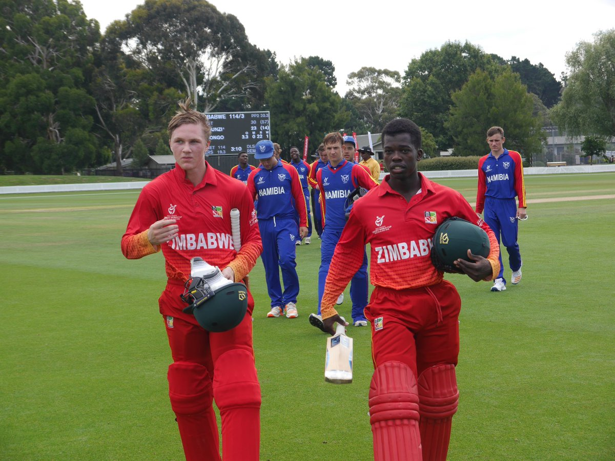 ICC U-19 World Cup: Zimbabwe Thrash Namibia To Enter Plate Semifinal 2