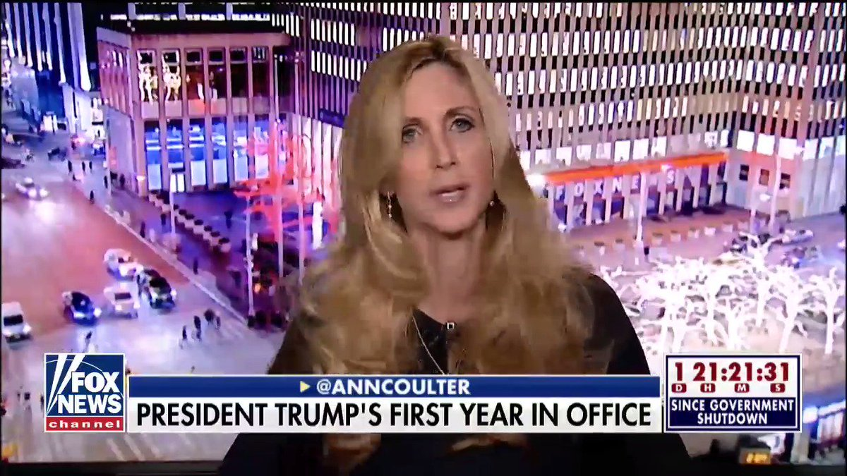RT @FoxNews: .@AnnCoulter: 'If [@POTUS] doesn't build the wall and deport illegals, this country is over.' https://t.co/UnsHAv002S