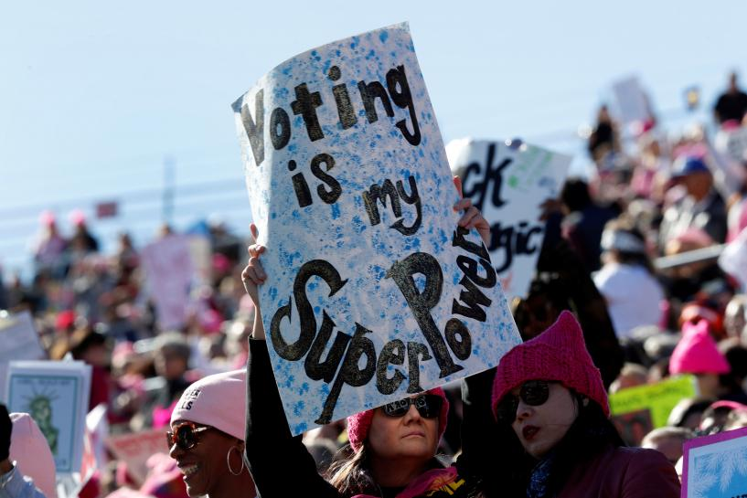 In Women's March finale, Las Vegas rally kicks off voter drive https://t.co/InIB3QkYT2