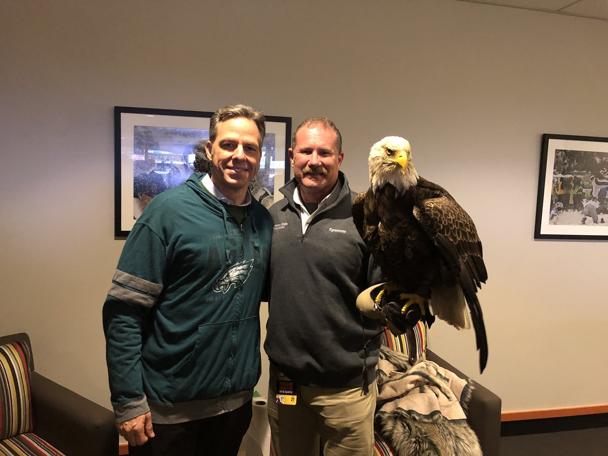RT @jaketapper: How you know it's real  #FlyEaglesFly  #superbowlbound https://t.co/LZKazSJp7r
