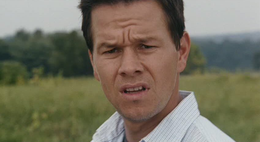 Mark Wahlberg trying to figure out who he's supposed to cheer for in the Super Bowl