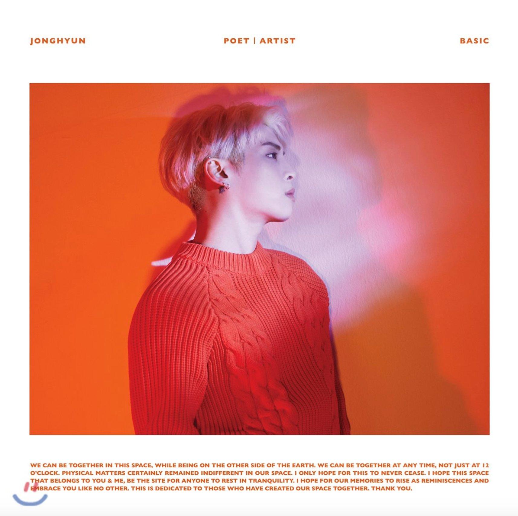 Imagini pentru jonghyun poet artist album