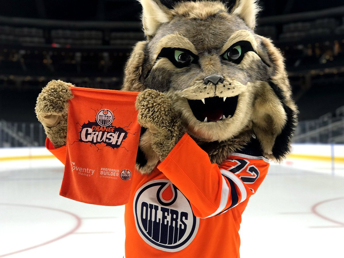 Coming to Tuesday night's #Oilers game vs. Buffalo? Our friends at @CoventryHomes are hooking every fan up with an #OrangeCrush rally towel! Can't make the game? RT for your chance to win one!