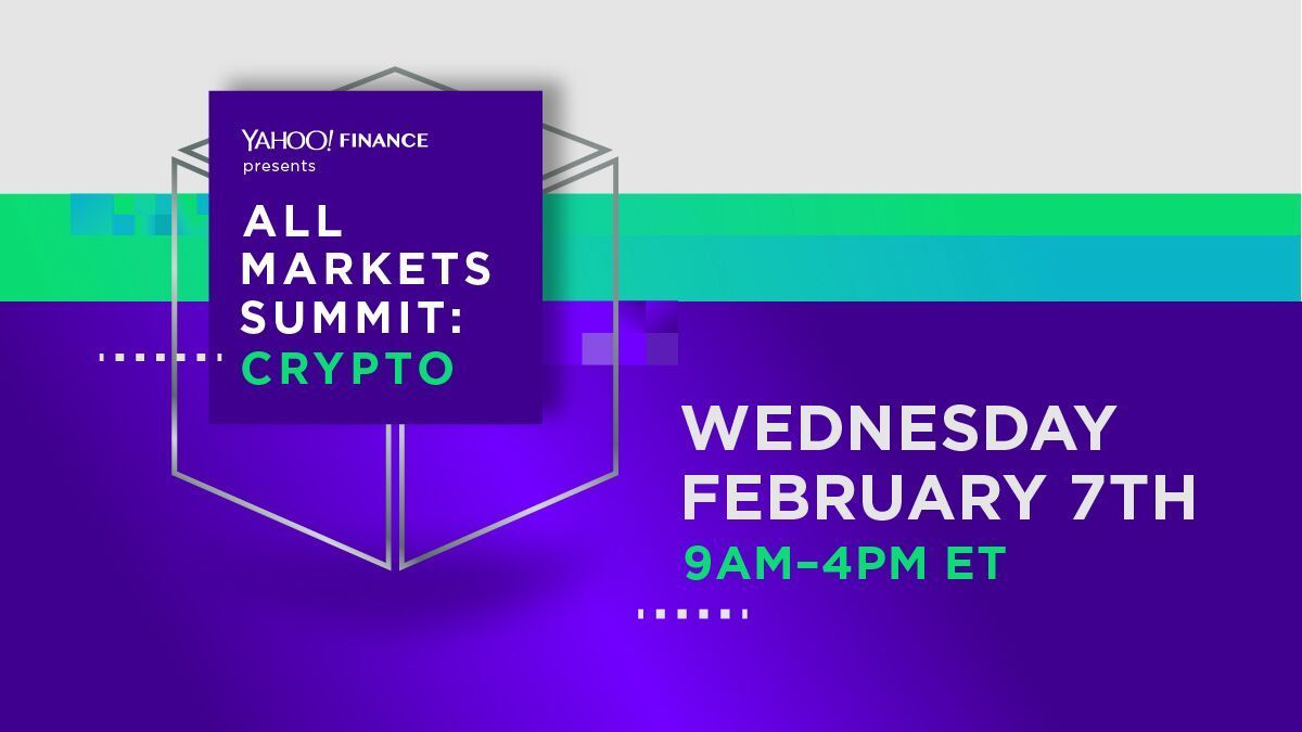 We're talking #bitcoin, #ether, #ripple and more at our #YahooAMS #crypto summit on Feb 7 in NYC. Come join us and get your tickets today: https://t.co/75a4wKWrK8