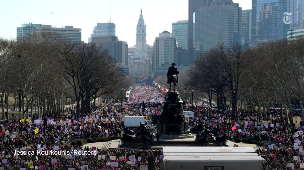 Women's Marches across the world, in photos and voices of protest https://t.co/L0pzTwRNPA https://t.co/k9eP8MWkdA