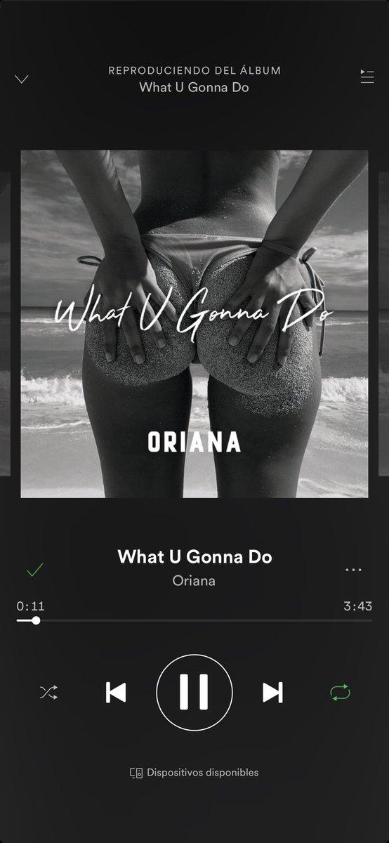 YAAAAAAAAA #WhatUGonnaDo en Spotify https://t.co/oY6Yh7qorc ⚡️🔥❤️🌈🎤🙊🤩