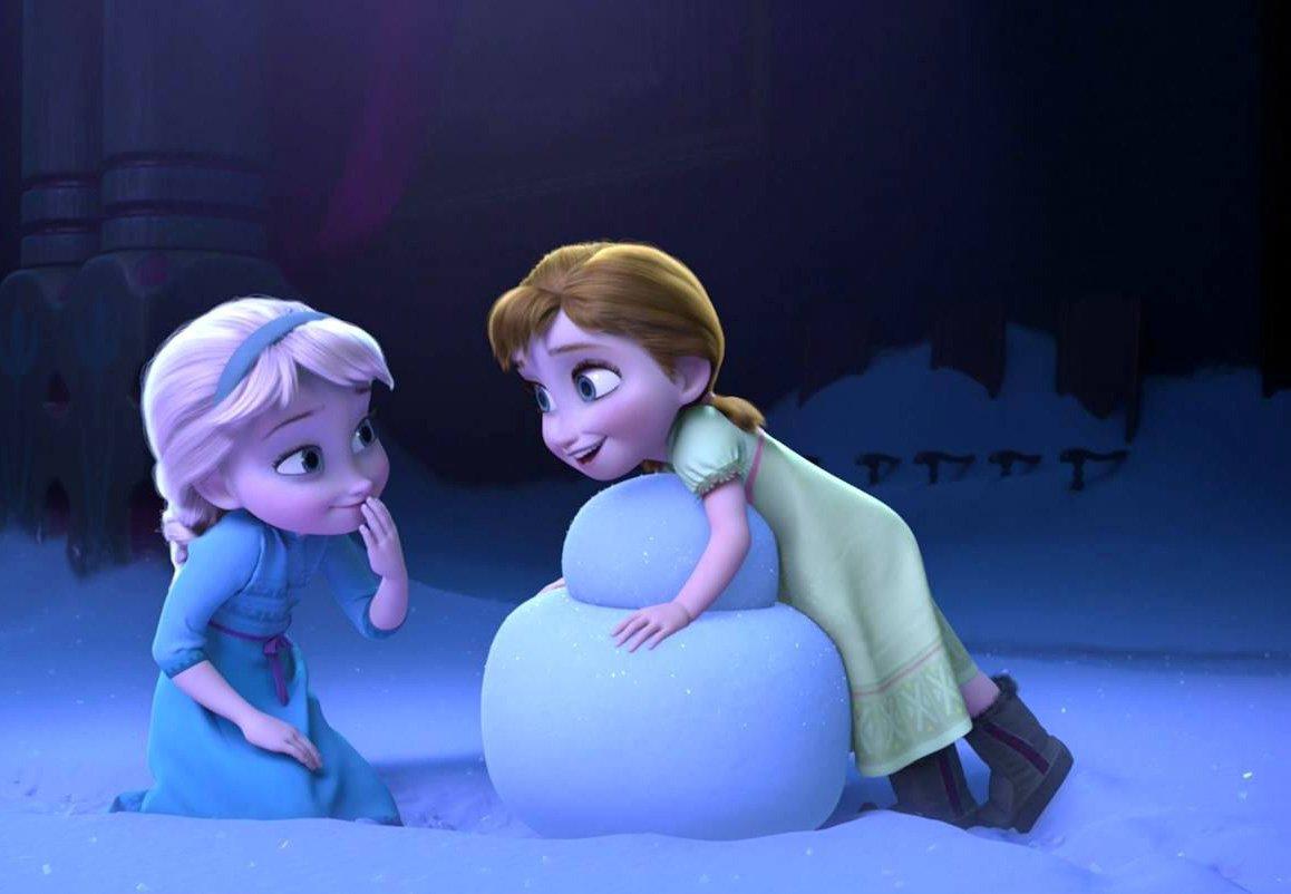 RT @disneyjp: 雪が降ったら何つくろう?⛄️❄️  #アナと雪の女王 #アナ #エルサ https://t.co/IZHUJ5M5T3