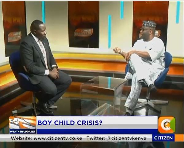 Dr. Wale: The boy child has no role models and there is also a negative impact of the society that glorifies the end means but does not want to find out how an individual got to where they are #PowerBreakfast  @WillisRaburu
