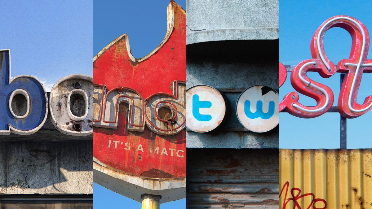 These decaying social media logos are the perfect metaphor for 2018 https://t.co/WRrLhtkyDQ