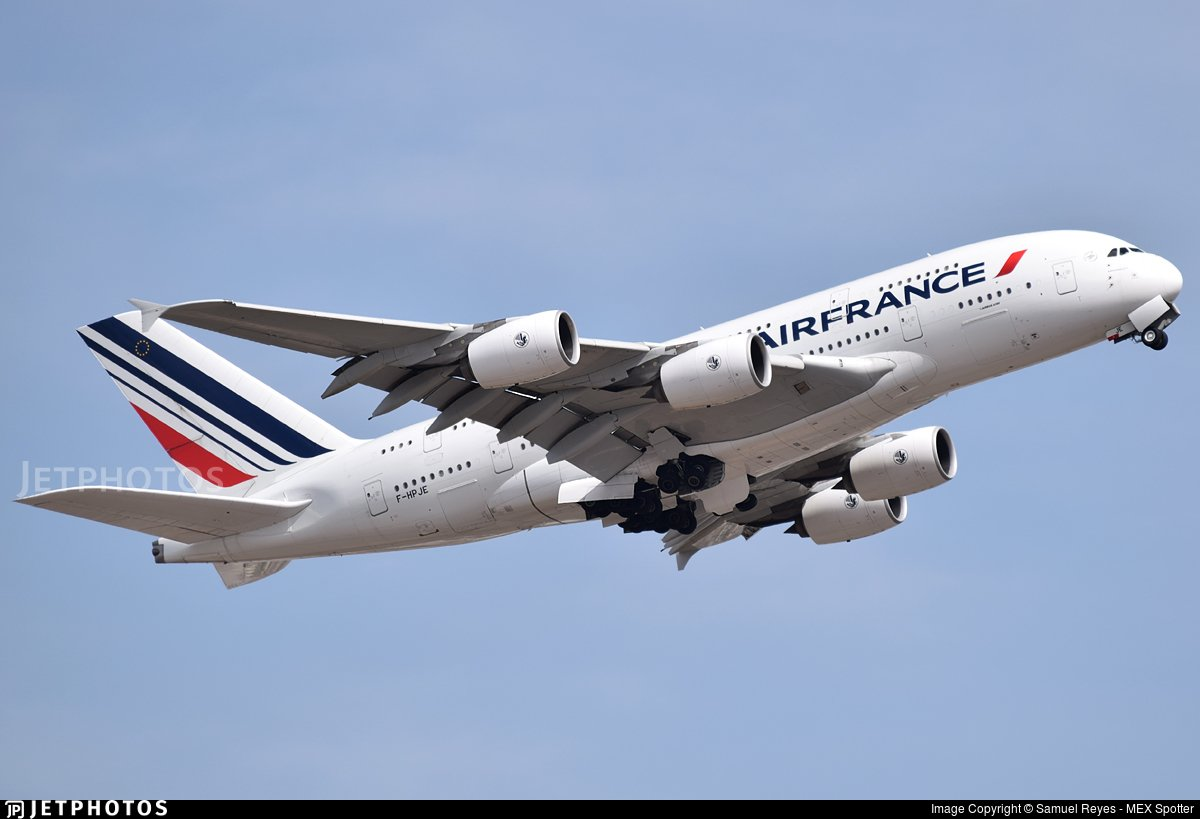 6️⃣ And finally, F-HPJE, the Air France A380 that suffered an uncontained engine failure over Greenland returned to regular service after repair. Its first revenue service took it from Paris to Johannesburg.  More info on F-HPJE an #AF66d  https://t.co/QhbiFZZCPvat